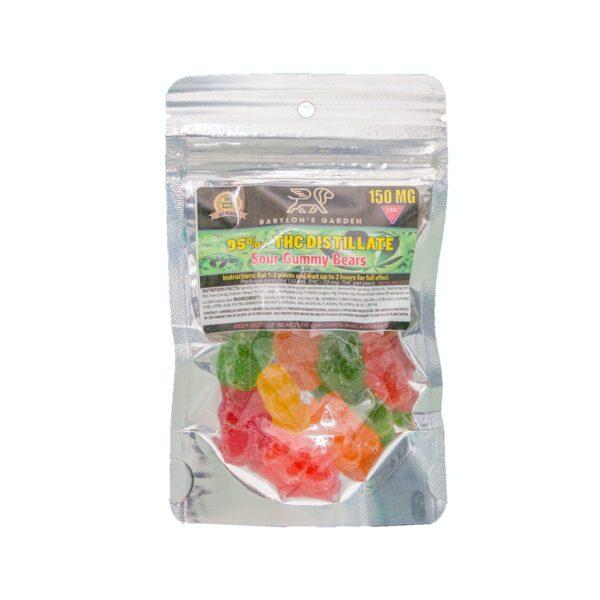 thc distillate gummy bears