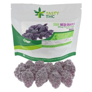 Cannabis Grape Sours Candy