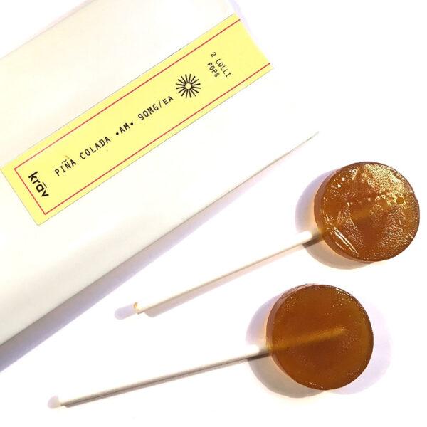 Krav Grape Indica Lollipop Candy