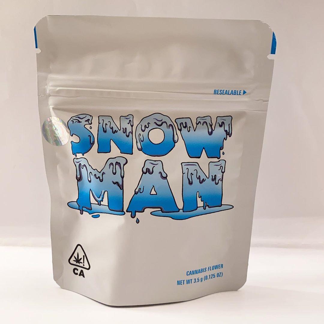 snow man cookie strain